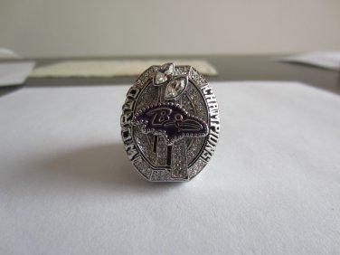 REPLICA 2012 Super bowl  XLVII CHAMPIONSHIP RING Baltimore Ravens 11S NIB MVP Joe Flacco