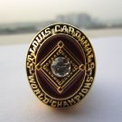 1964 St Louis Cardinals MLB Baseball Championship ring world series ring size 11 US