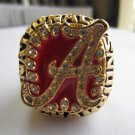 2009 Alabama Crimson NCAA Football Championship ring replica size 11 US