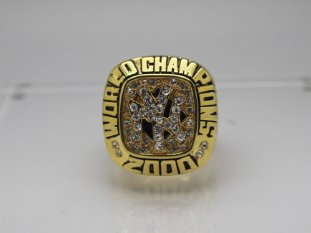 2000 New York Yankees MLB Baseball World series Championship Ring
