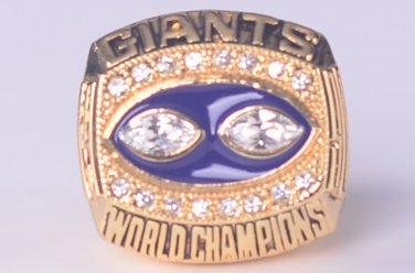 NFL 1990 New York Gaints Super bowl  XXV CHAMPIONSHIP RING  11S  player SIMMS