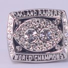 NFL1980 OAKLAND RAIDERS Super bowl XV CHAMPIONSHIP RING  11S mvp player Jim Plunkett