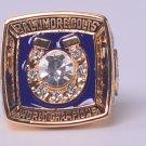 NFL 1970 Baltimore Colts Super bowl V CHAMPIONSHIP RING11S NIB