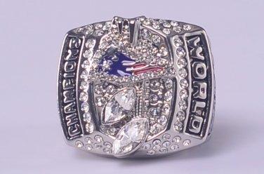 NFL 2003 New England Parriots Super bowl XXXVIII CHAMPIONSHIP RING  Player Kraft