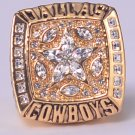 NFL 1995 DALLAS Cowboys Super bowl XXX CHAMPIONSHIP RING  Player AIKMAN 11S NIB