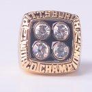 NFL 1979 Pittsburgh Steelers Super bowl XIV CHAMPIONSHIP RING MVP Terry Bradshaw 11S NIB