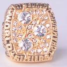 NFL 1978 Pittsburgh Steelers Super bowl XIII CHAMPIONSHIP RING MVP Terry Bradshaw 11S NIB