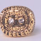 NFL 1975  Pittsburgh Steelers Super bowl X CHAMPIONSHIP RING Player Harris 11S NIB