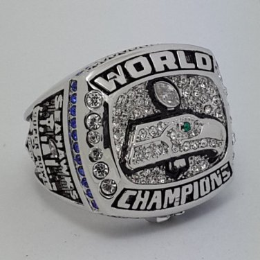 2013 Seattle Seahawks XLVIII NFL super bowl championship ring size 9-12 US