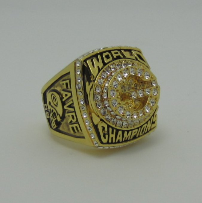 NFL 1996 Green Bay Packers super bowl ring replica size 11 US