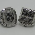 One Set 2012&2014 Los Angeles La Kings Hockey Championship ring alloy solid 11S