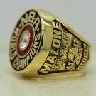 1983 Philadelphia 76ers NBA Basketball National Championship Ring 12 Size Malone Gift