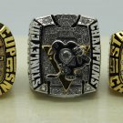 1 Set (3pcs)1991 1992 2009 PITTSBURGH PENGUINS NHL Stanley Cup Championship Rings 11S