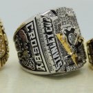 1 Set (3pcs)1991 1992 2009 PITTSBURGH PENGUINS NHL Stanley Cup Championship Rings 10S