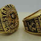 1 Set (2pcs)1991 1992 PITTSBURGH PENGUINS NHL Stanley Cup Championship Rings 10S