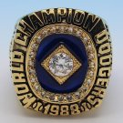 MLB 1988 Los Angeles Dodgers world series championship ring 11S