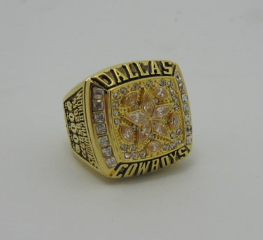 NFL 1995 DALLAS Cowboys Super bowl XXX CHAMPIONSHIP RING  Player AIKMAN 11S Copper solid