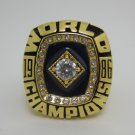 1986 New York Mets Baseball  MLB world series Championship ring cooper ring size 12