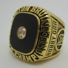 1970 Boston Bruins NHL Hockey Stanely cup Championship ring replica size 10 US Copper solid ring