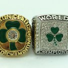 2PCS 1984 2008 Boston Celtics NBA CHAMPIONSHIP RING  10S