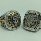 2PCS 2010 2014  MLB San Francisco Giants World series Championship ring size 9-13 solid