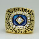 1985 Kansas City Royals world seires Championship Ring 8-14 sice solid back