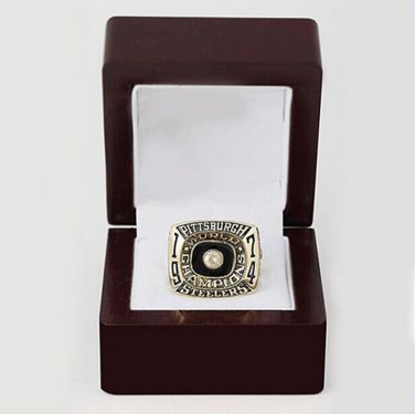 1974 Super bowl CHAMPIONSHIP RING Pittsburgh Steelers 10-13 size with wooden case