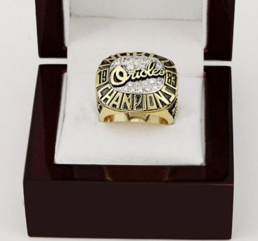 1983 Baltimore Orioles World Series CHAMPIONSHIP RING 10-13 size +wooden case
