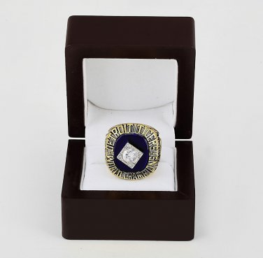 1984 Detroit Tigers World Series CHAMPIONSHIP RING 10-13 size +wooden case