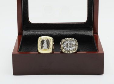 2pcs 1986 1993 Montreal Canadiens NHL CHAMPIONSHIP RING 10-13 size +wooden case