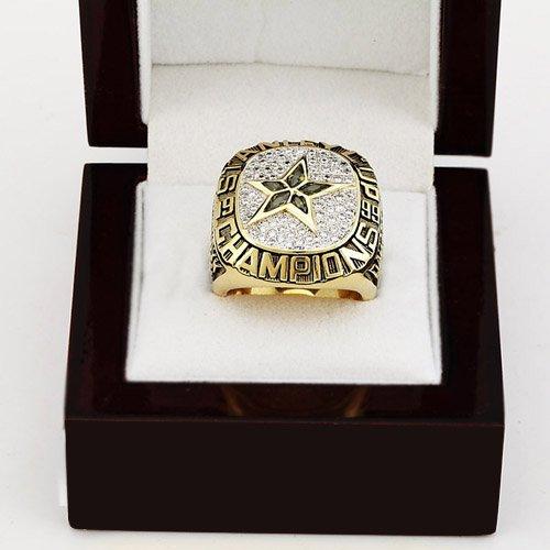 1999 Dallas Stars NHL CHAMPIONSHIP RING 10-13 size +wooden case