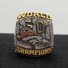 NFL Miller ring 2015 2016 Denver Broncos super bowl  Rings 9 Size copper solid back