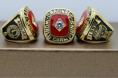 1982 St. Louis Cardinals Baseball World series Championship ring cooper ring size 8 US