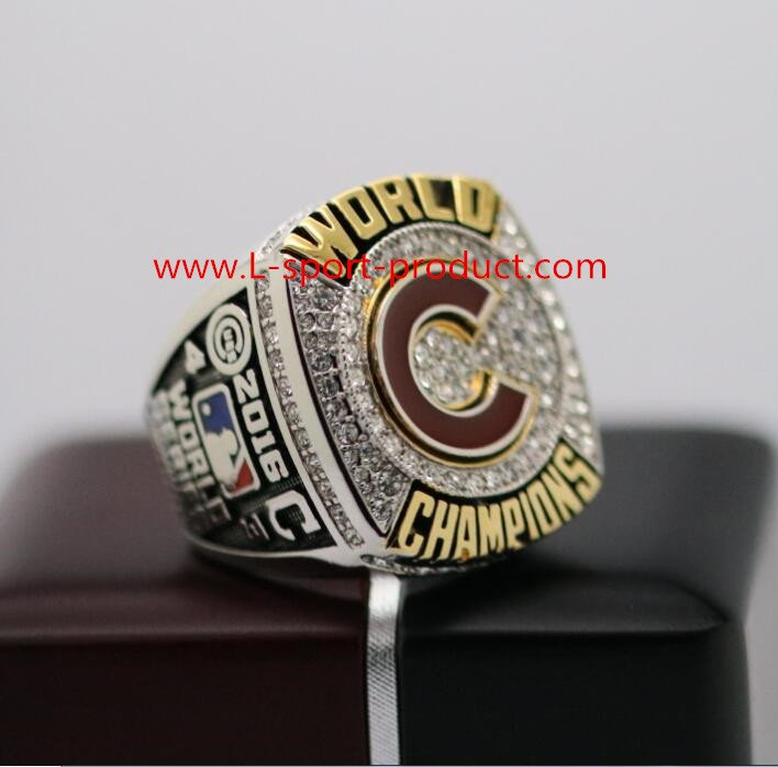 2016 Chicago Cubs world series ring 8-14S copper solid  Bryant Name