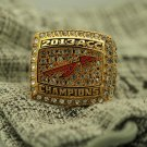 2013 Florida States Seminoles ACC National Championship Ring 8-14S solid one