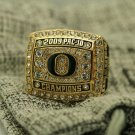 2009 Oregon Ducks PAC 10 National championship ring 8-14S for sale