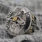 REPLICA 2012 Super bowl  XLVII CHAMPIONSHIP RING Baltimore Ravens 8-14S NIB MVP Joe Flacco