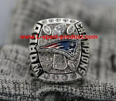 2017 New England Patriots NFL super bowl championship ring 8S for Tom Brady