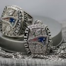 One Set 2016 New England Patriots super bowl championship Necklace and ring
