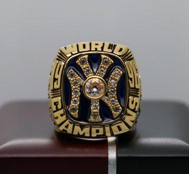 1996 New York Yankees MLB World Series ring 8-14S for Jeter