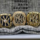 5PCS 1996 1998 1999 2000 2009 New York Yankees MLB World Series ring 8-14S for Jeter