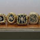 7PCS 1977 1978 1996 1998 1999 2000 2009 New York Yankees MLB rings 8-14S