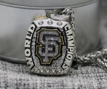 2014 San Francisco Giants world series championship Necklace with steel Chain