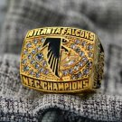 1998 Atlanta Falcons NFC CHAMPIONSHIP ring copper solid 8-14 size to choose