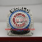 FOR MVP ZOBRIST 2016 Chicago Cubs MLB world seire Championship Ring 9 Size
