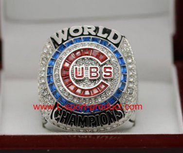 FOR MVP ZOBRIST 2016 Chicago Cubs MLB world seire Championship Ring 11 Size