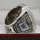 FOR MVP ZOBRIST 2016 Chicago Cubs MLB world seire Championship Ring 13 Size