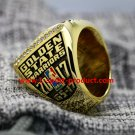 Stephen Curry 2017 Golden State Warriors Basketball championship ring 10S
