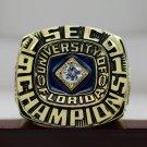 1991 UF Florida Gators SEC NCAA National championship ring 8-14S ingraved inside