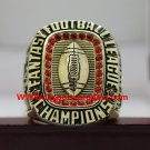 2017 Fantasy Football Championship Ring FFL Trophy Ring SZ 8-14 Copper version